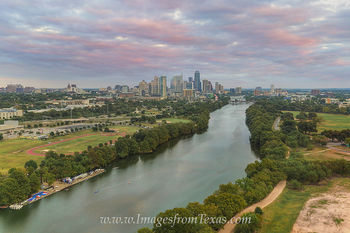 Aerial View of the Austin Skyline 1