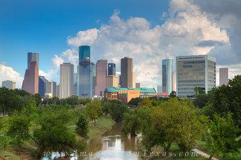 houston texas images,houston skyline prints,houston skyline,buffalo bayou houston,buffalo bayou