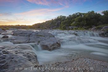 April Evening on the Pedernales River 1
