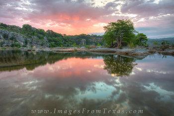 April Sunrise 2 - Pedernales Falls