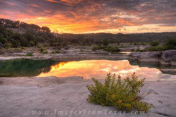 August Sunrise at Pedernales Falls 2