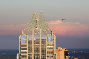 austin skyline,frost tower,southwest airlines,austin texas images