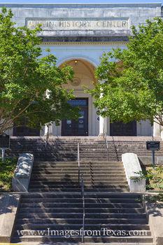 Austin History Center, historical information, 1933, austin