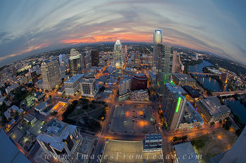austin skyline prints,austin tx,downtown austin,aireal view of austin