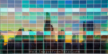 austin skyline reflection,downtown austin,austin texas