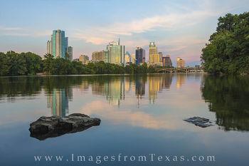 Austin Skyline in August 1