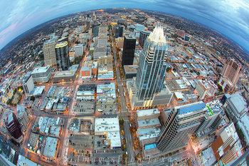 downtown austin photos,austin cityscapes,frost tower,austin texas