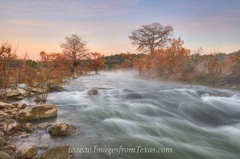 Autumn Colors along the Pedernales River 1