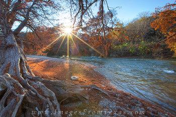 Autumn Colors at Pedernales Falls State