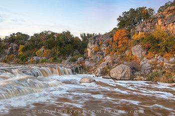 Autumn Colors at Pedernales Falls 1