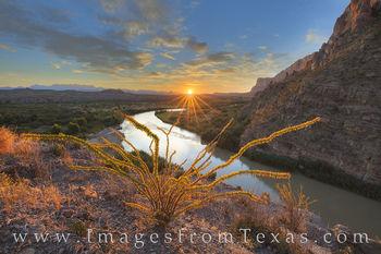 Autumn Sunrise at Santa Elena Canyon 1