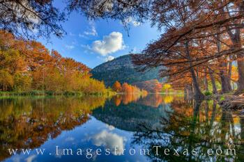 Autumn in Garner State Park 2