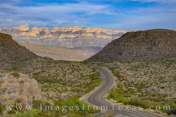 big bend national park, sierra del carmen, hwy 118, rio grande village, road, highway, curves