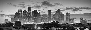 houston black and white,houston skyline panoramas,houston skyline images,houston pano,houstin back and whilte photos,black and white,downtown houston,houston prints,texas,texas cityscapes,texas pictur