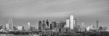 dallas skyline panorama,dallas texas skyline,dallas cityscape,black and white,reunion tower,margaret hill bridge,dallas skyline images