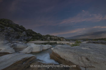 blood moon,texas hill country,pedernales falls,pedernales river,texas landscapes,texas night time images