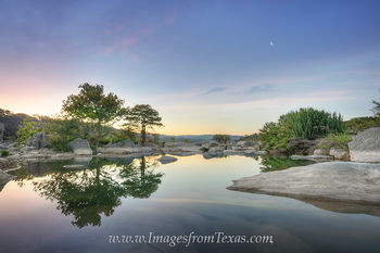 Blue Hour Sunrise at Pedernales Falls