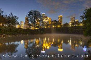 Buffalo Bayou before Sunrise 330-1