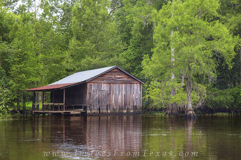 Caddo Lake Boathouse 1