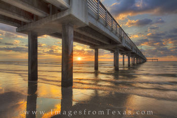 Mustang island, port Aransas, texas coast, Caldwell pier, texas landscapes, texas gulf coast, Aransas pass