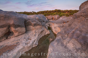 texas hill country, pedernales river, pedernales falls, state park, texas parks, morning, sunrise, water, river, long exposure