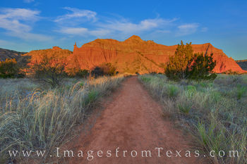 lighthouse trail, capitol peak, hiking, palo duro canyon, panhandle, amarillo, palo duro state park, state park, morning, winter, trail