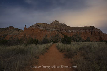 Palo Duro Canyon,Capitol peak,Texas at night,Texas night images,Palo Duro Canyon at night,Palo Duro Canyon photos,Texas landscapes