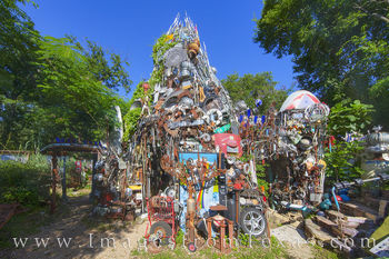 cathedral of junk, austin icons, austin texas, south austin, weird, unusual, sightseeing