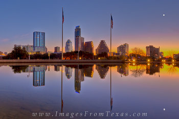 austin cityscape,downtown austin,long center