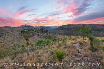 Davis Mountains Glory - Summer Sunset 1