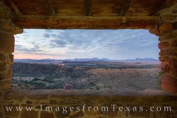 Davis Mountains Sunrise Overlook 1