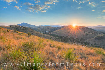 Davis Mountains Sunset 1