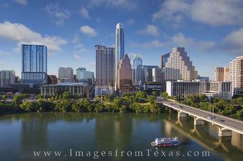 Downtown Austin Skyline from the Hyatt 7-12