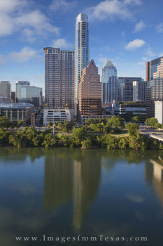 Downtown Austin Skyline from the Hyatt 7-22