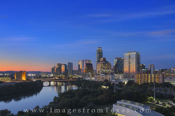 Downtown Austin, Texas, at Night 2