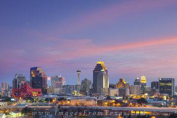 Downtown San Antonio Evening 1