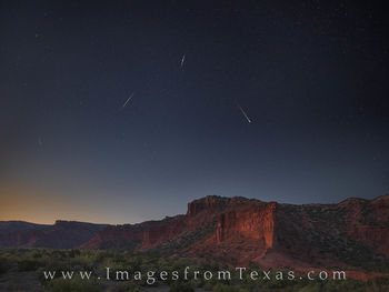 Draconids over Caprock Canyons 1008-1