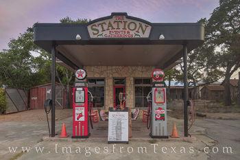 The Station, Dripping Springs, Mercer Street, Texaco
