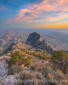 El Capitan from Guadalupe Peak 1030-1