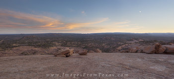 enchanted rock state park,texas hill country,panorama,texas landscapes