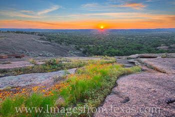 Enchanted Rock Sunset 612-1
