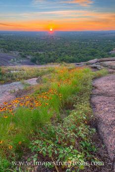 Enchanted Rock Sunset 612-2
