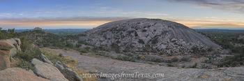 Enchanted Rock and Turkey Peak Sunset 3