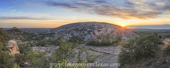 Enchanted Rock and Turkey Peak Sunset 2
