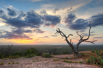 Enchanted Rock on a September Sunset 1