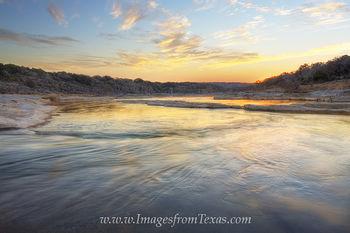 February Sunrise on the Pedernales River 3