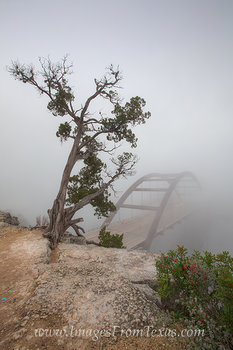 360 bridge in fog,360 bridge prints,pennybacker bridge,austin bridge images