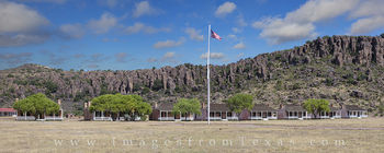 fort davis images, fort davis panorama, fort davis national historic site, officers row, davis mountains, fort davis, west texas, texas frontier