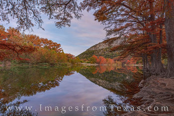 garner state park, old baldie, frio river, fall, autumn, colors, cypress, evening, oak, hill country