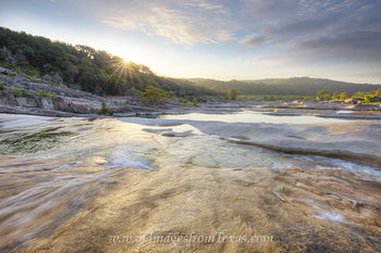 Golden Sunlight at Pedernales Falls 1